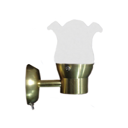 LED BRASS READING ACCENT WALL LIGHT DIMMABLE MARINE BOAT