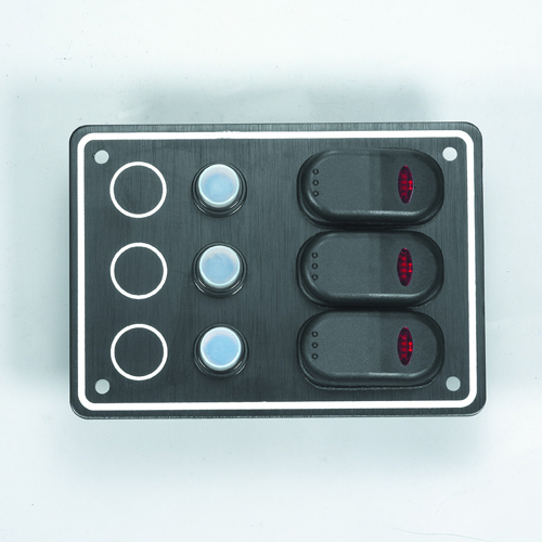 3 Gang Splashproof Switch Panel