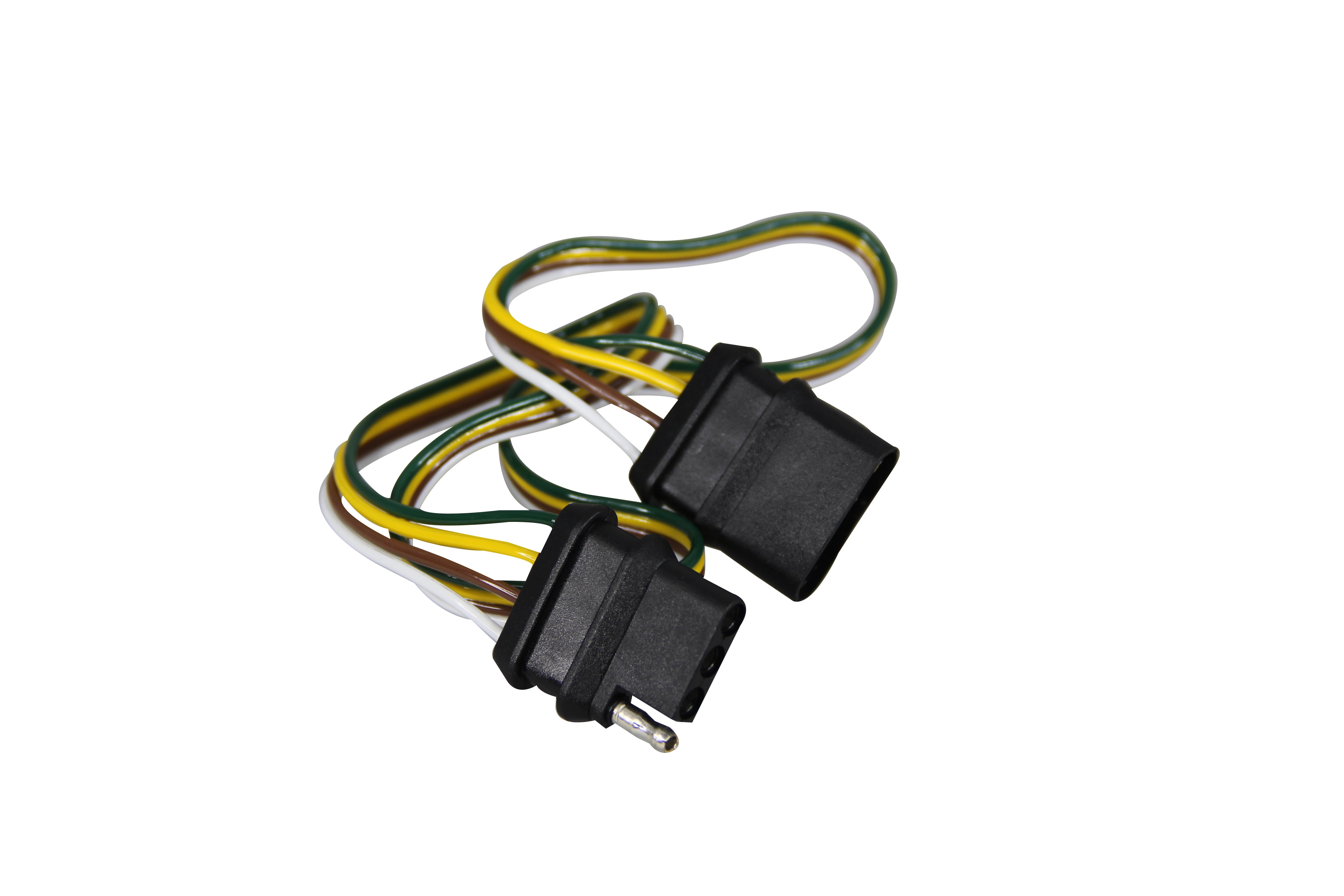 Pactrade Marine Rv Boat 4 Way Trailer Wire Connector 24 Extension Wiring Harness Straps