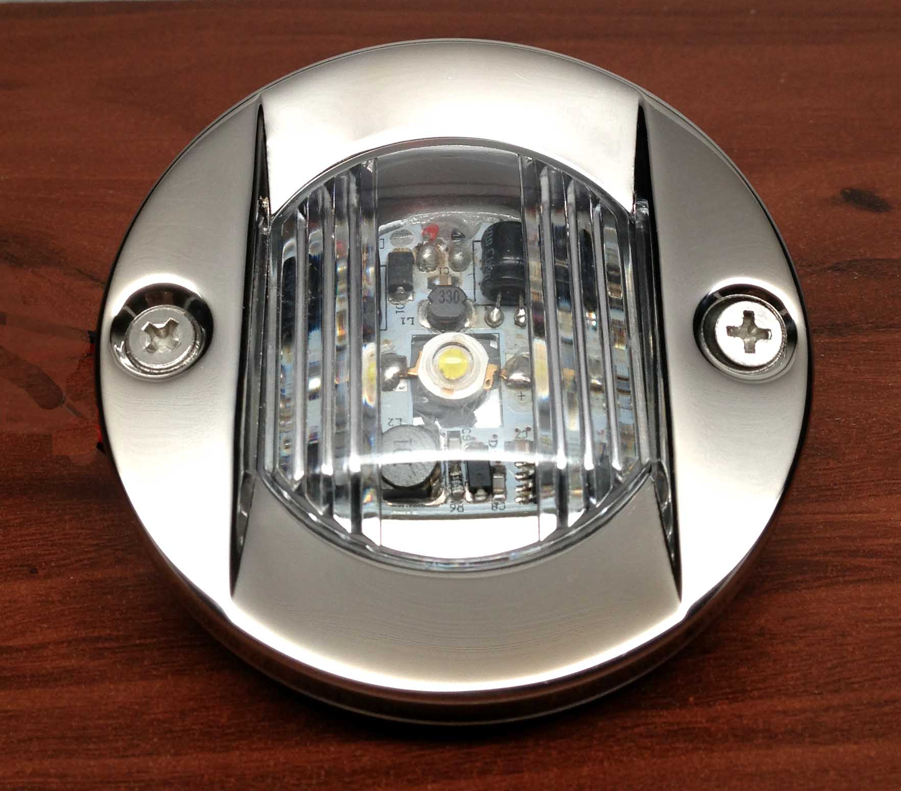 Pactrade Marine Boat Transom Led Stern Light Stainless