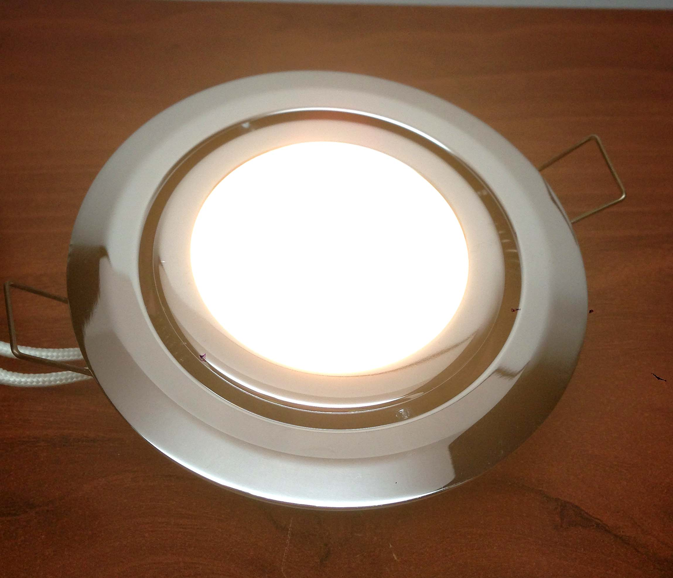 Marine Boat Swivel Ceiling Light Flush Mount Chrome Plated
