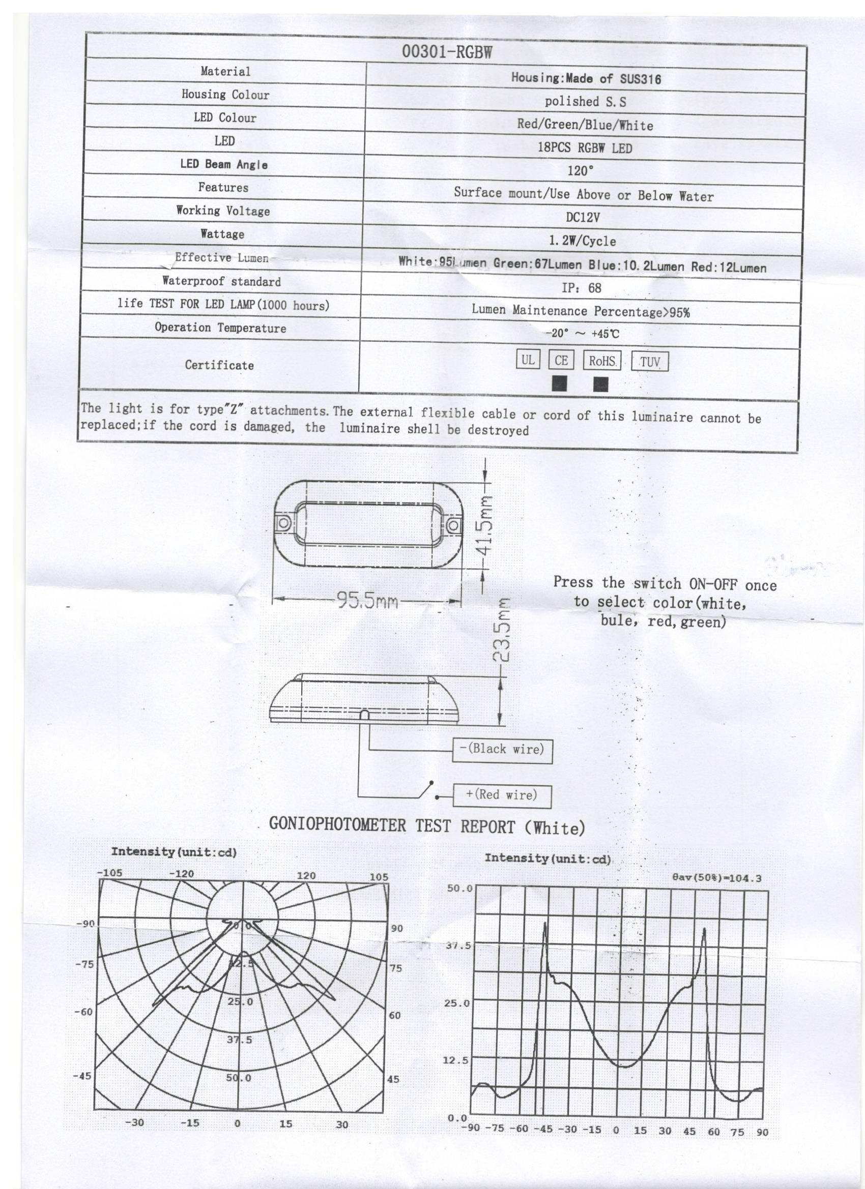 Underwater Light Wiring Diagram Saturn View Engine Diagram