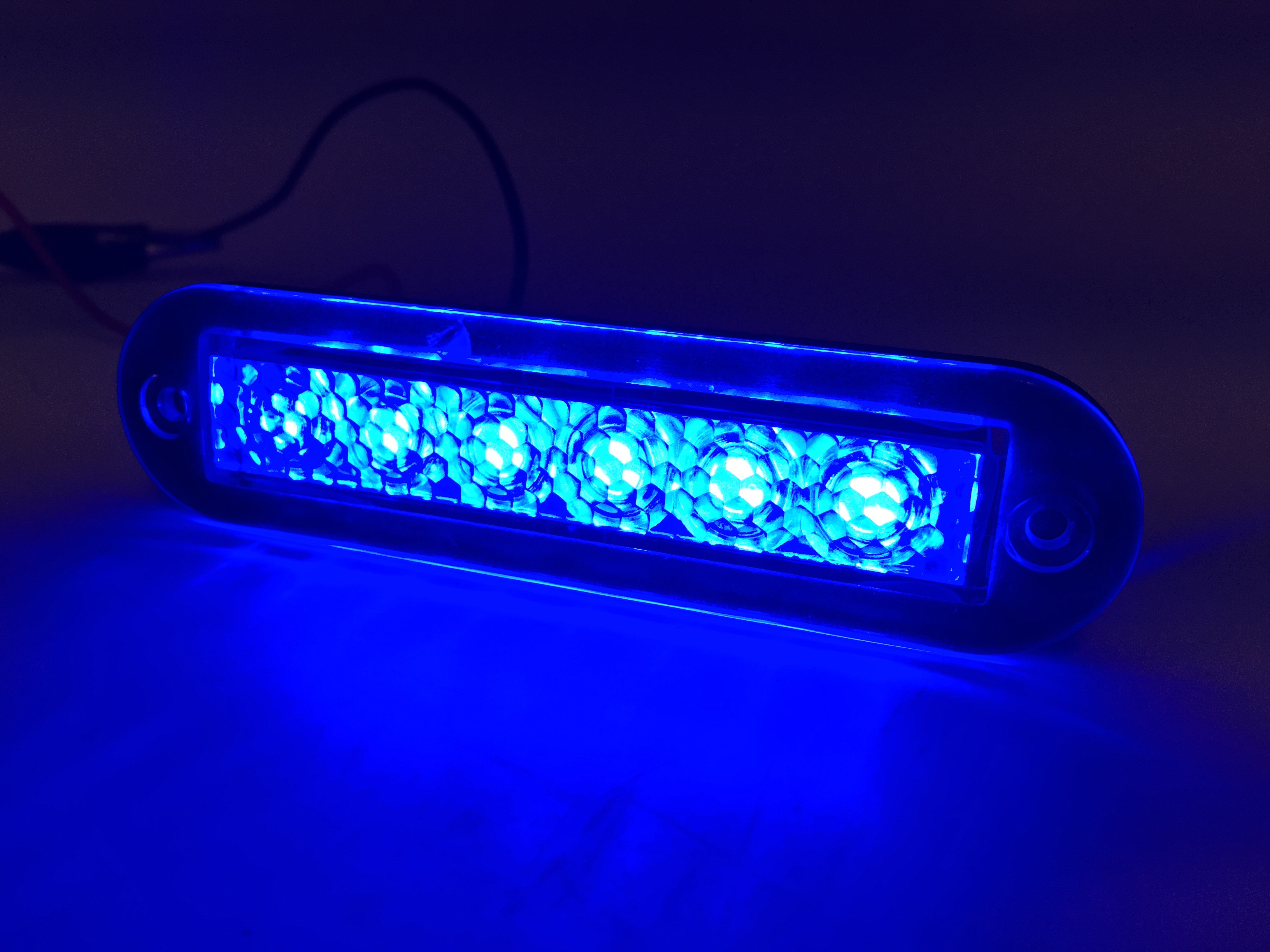 Marine Boat Blue Led Strip Light 14lm Flush Mount 12v 1 2w