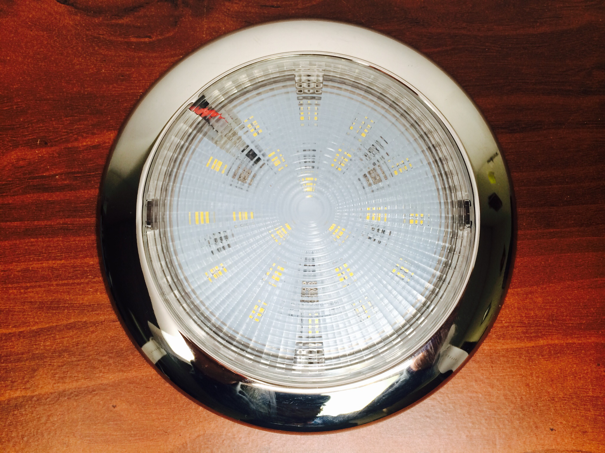 Marine Boat Led Bright Super Slim Ceiling Light 4 Quot D Surface Mount Easy Marine And Rv Lighting