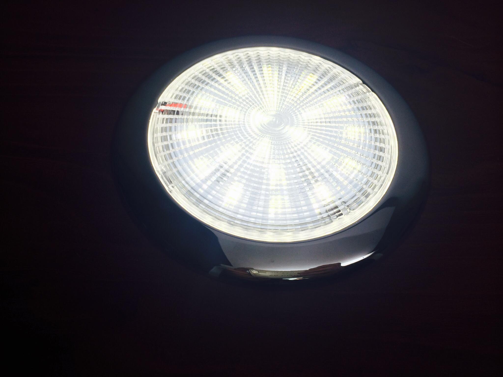Marine Boat Led Bright Super Slim Ceiling Light 4 Quot D