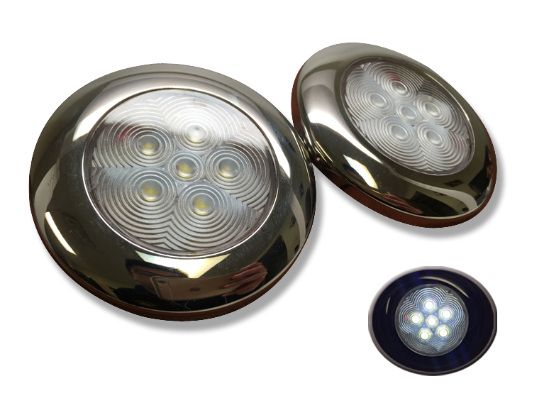 2 of Marine Boat Nature White LED Ceiling Light SS304 Housing