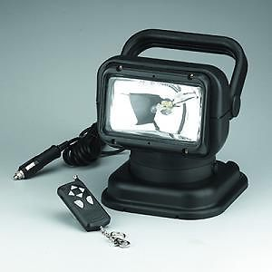 Portable Wireless Spotlight with Ferrite Magnetic Pad