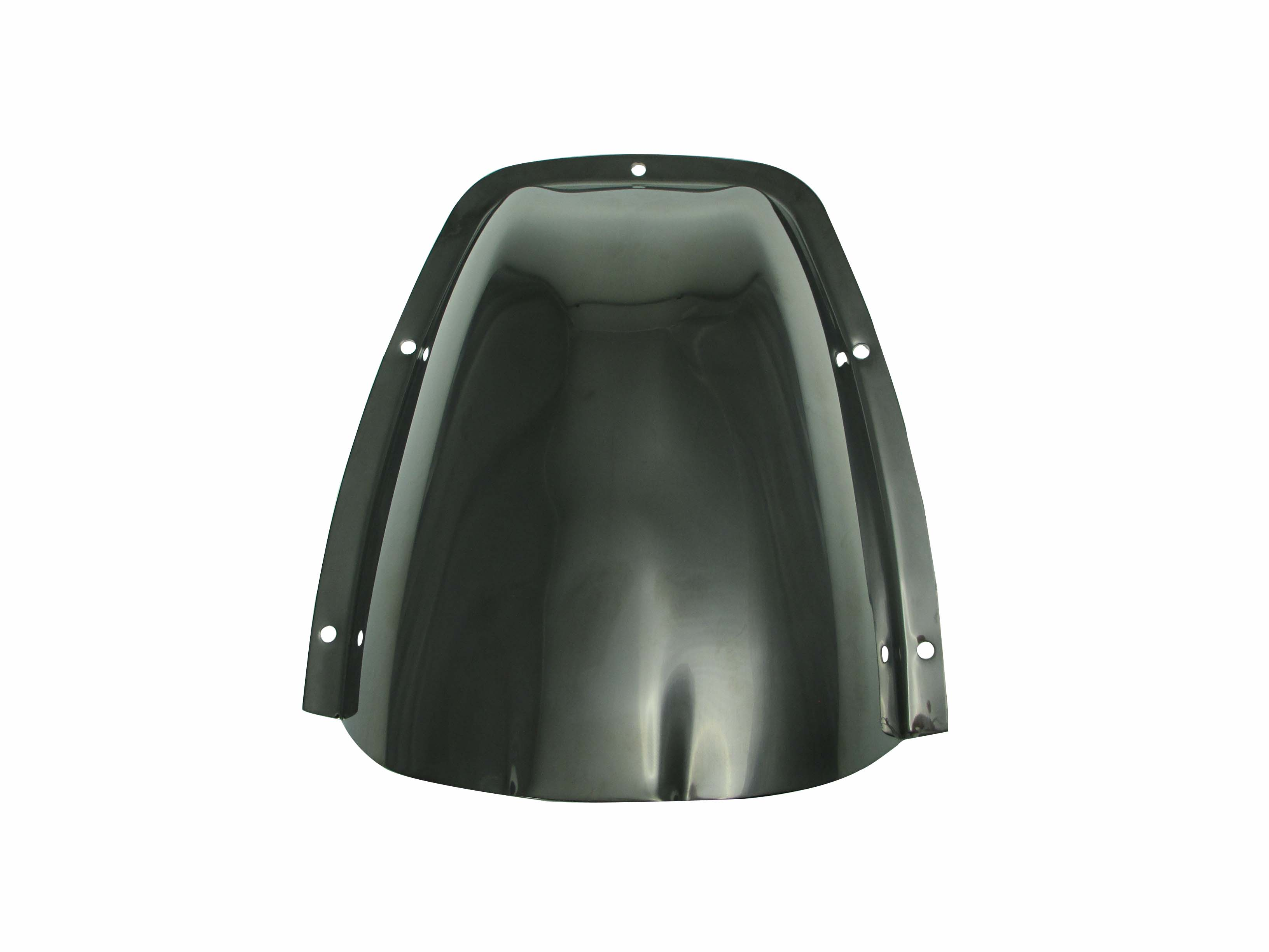 Qty2 Large Black Stainless Steel Clam Shell Ventilators or Wire Covers for Boats