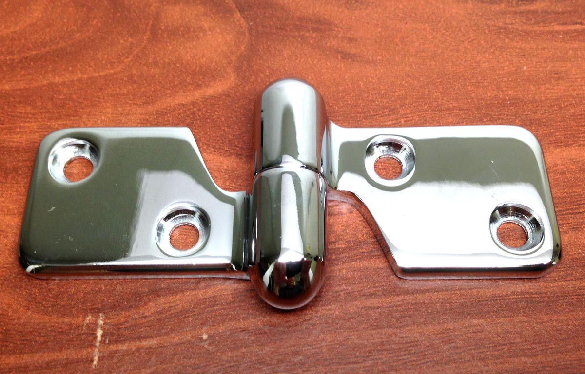 "MARINE BOAT STAINLESS STEEL 304 MOTOR BOX HINGE 3.75"" BY 1 3/16"""