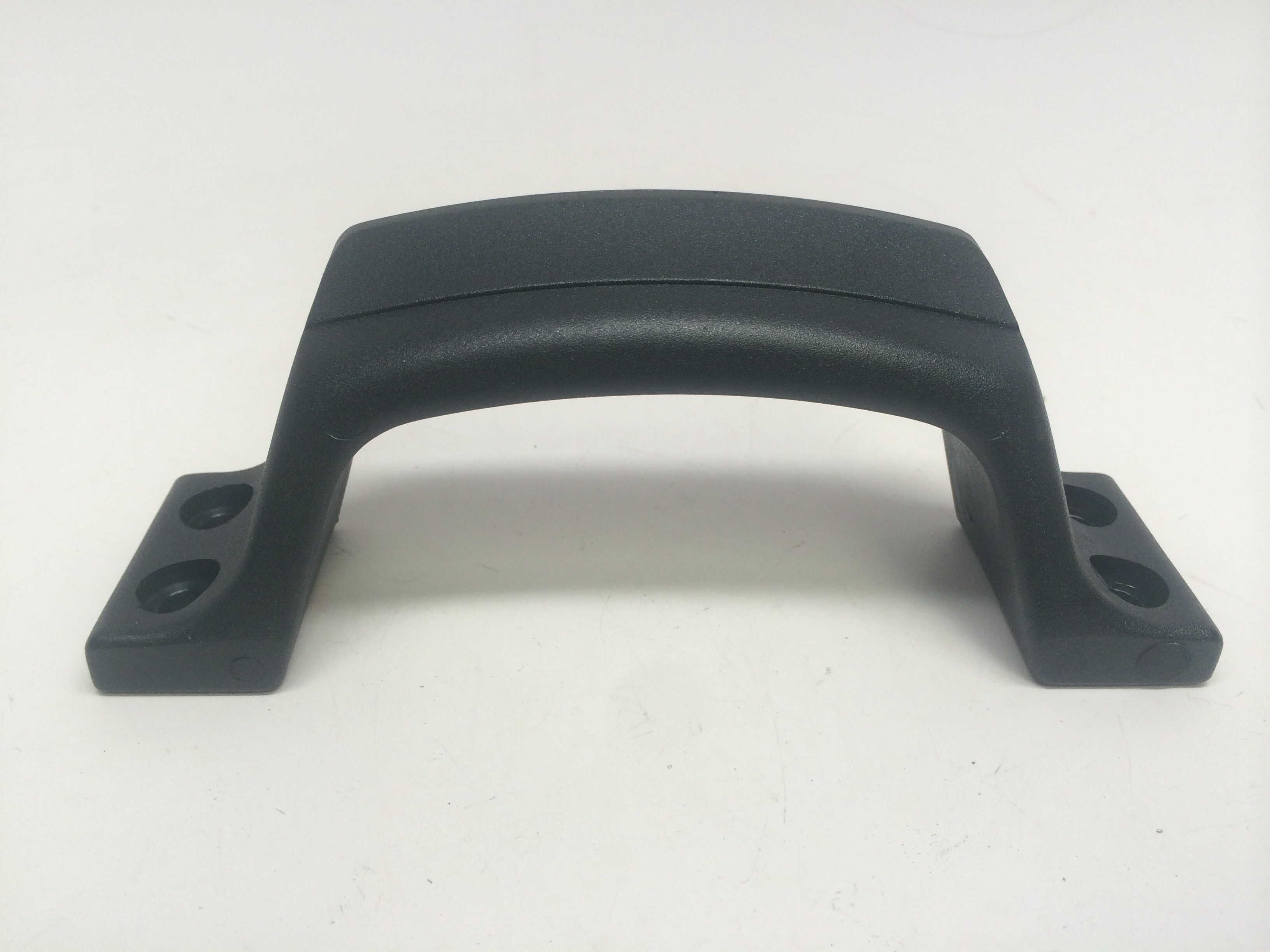 MARINE BOAT BLACK NYLON TRANSOM MOUNT STERN HANDLE/COCKPIT STEP