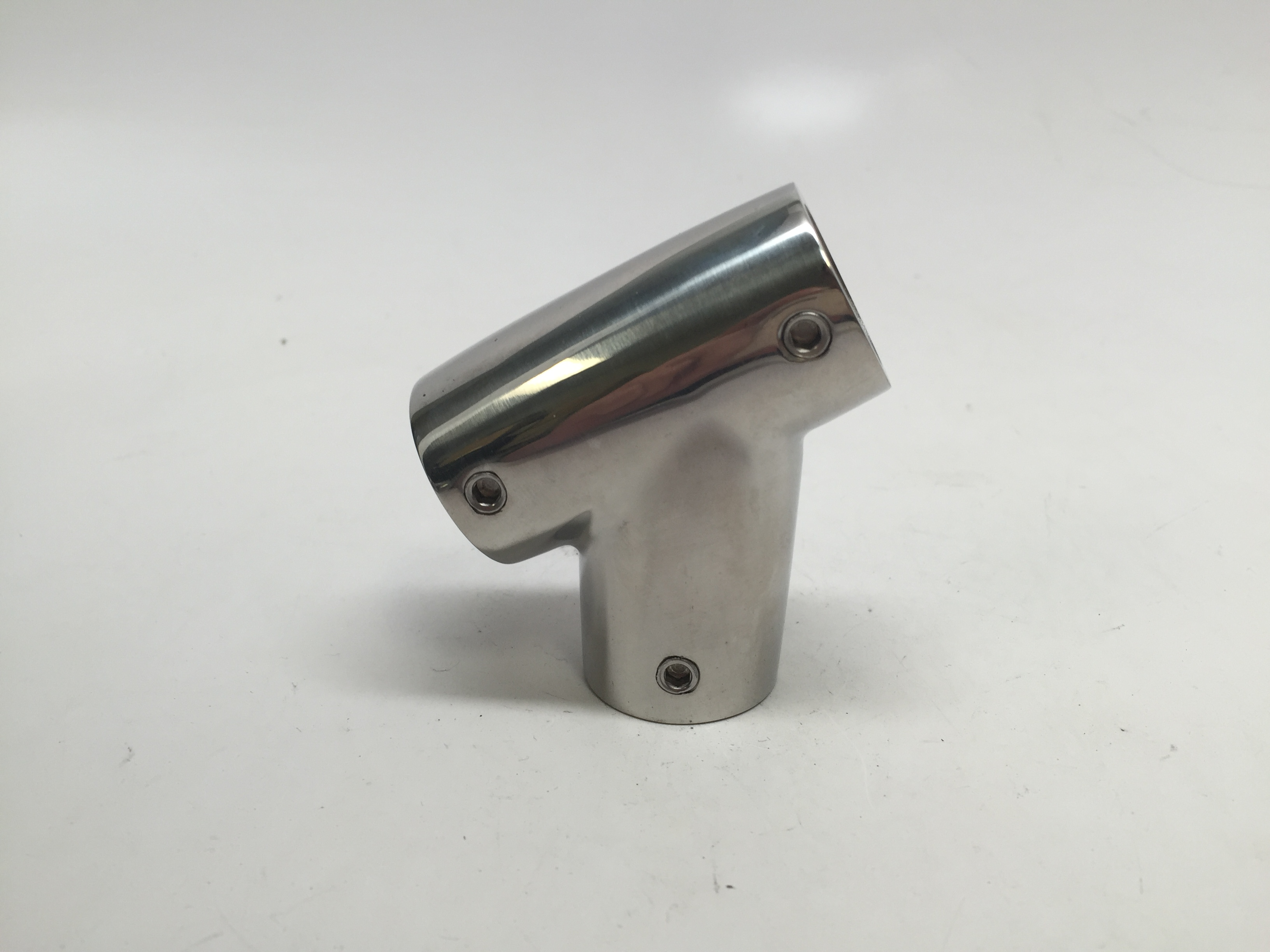 MARINE BOAT DURABLE HANDRAIL FITTING SS316 TEE FORM 60 DEG LEFT