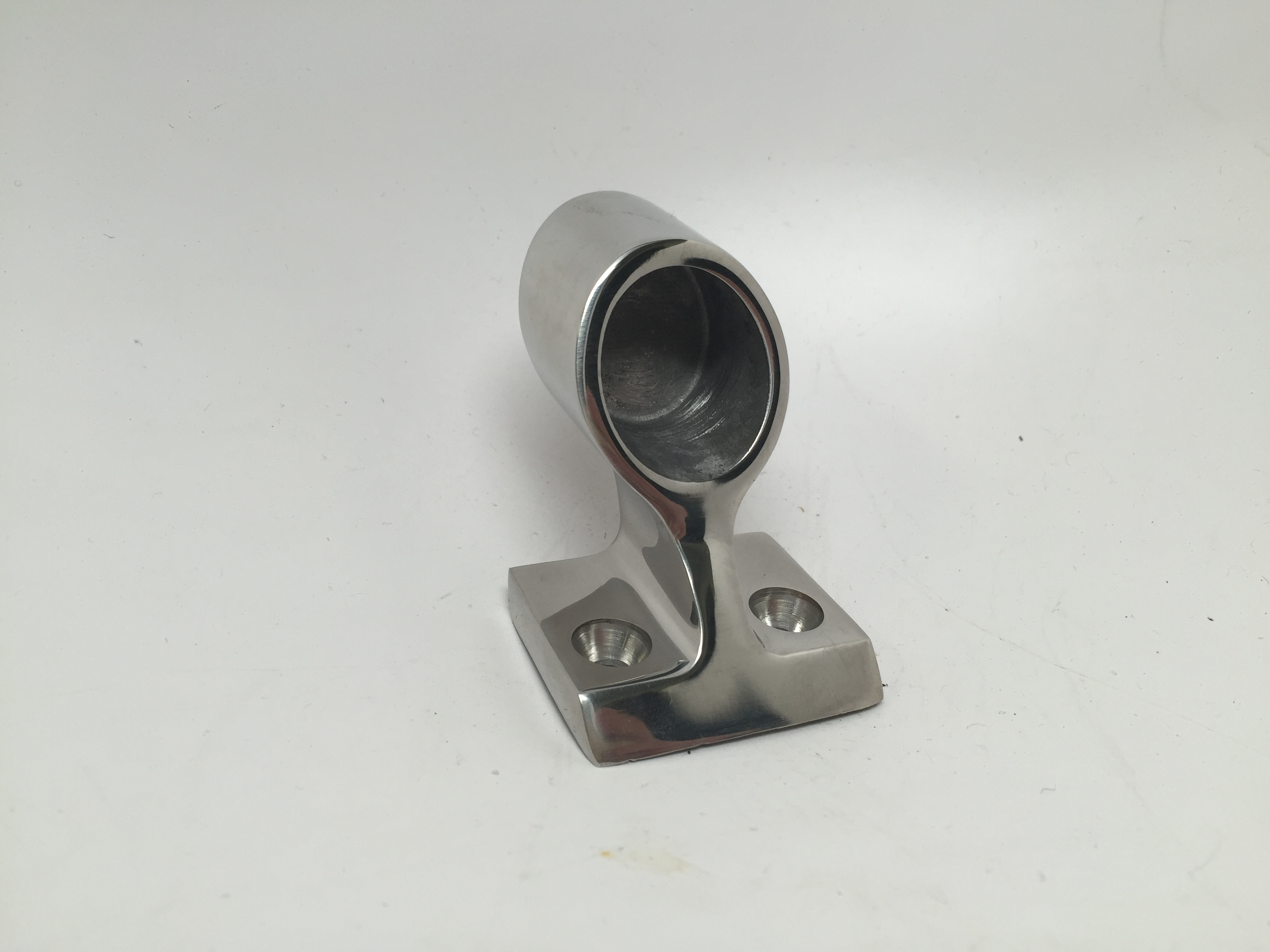 MARINE BOAT DURABLE STANCHION HAND RAIL FITTING SS 316 120 DEG E