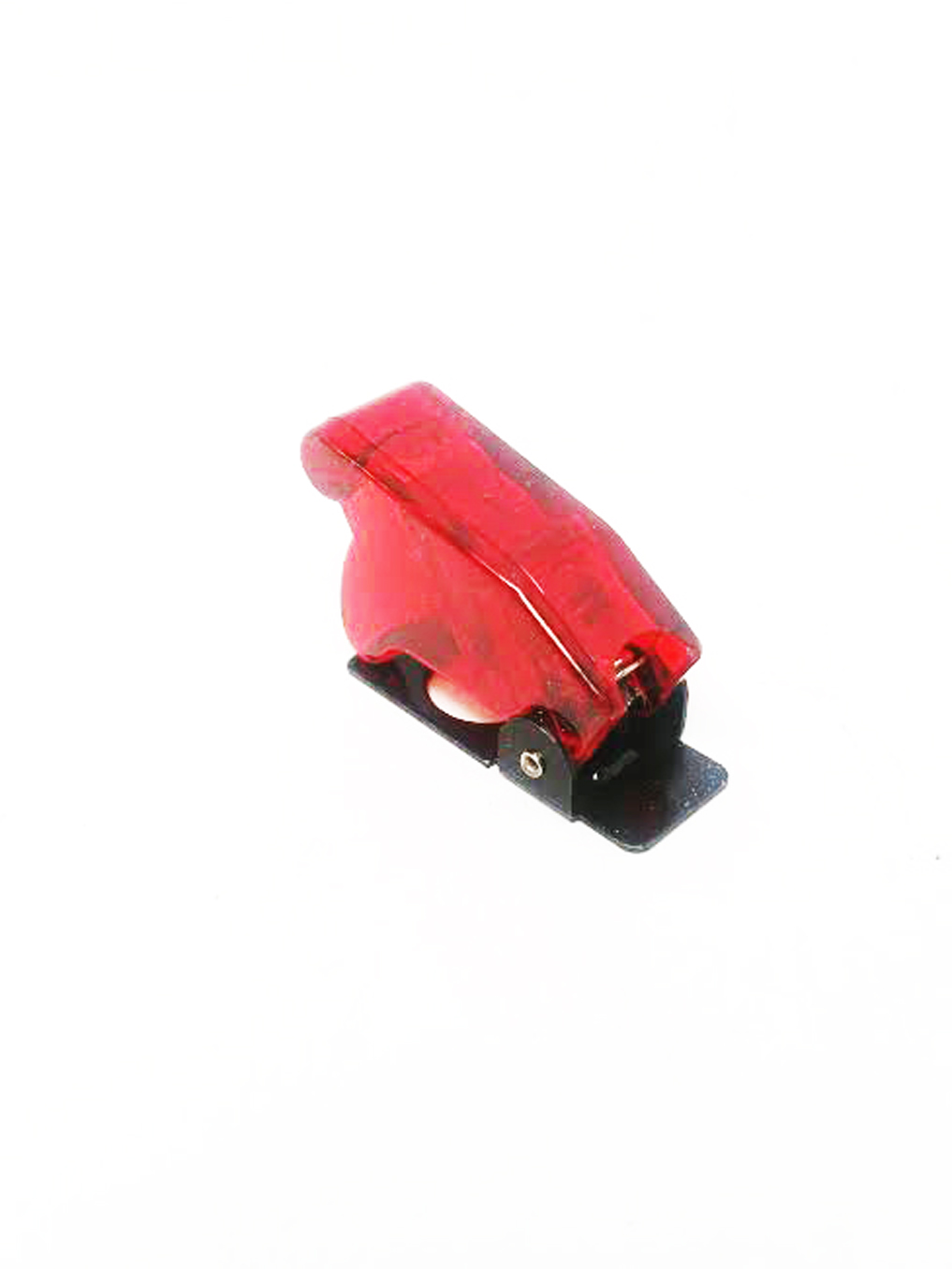 Red Safety Switch Flip Cap Cover For Auto Boat RV Toggle Switch