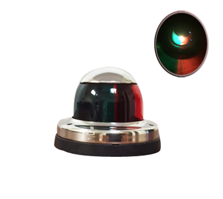 Stainless Steel LED Red Green Navigation Stern Bow Light