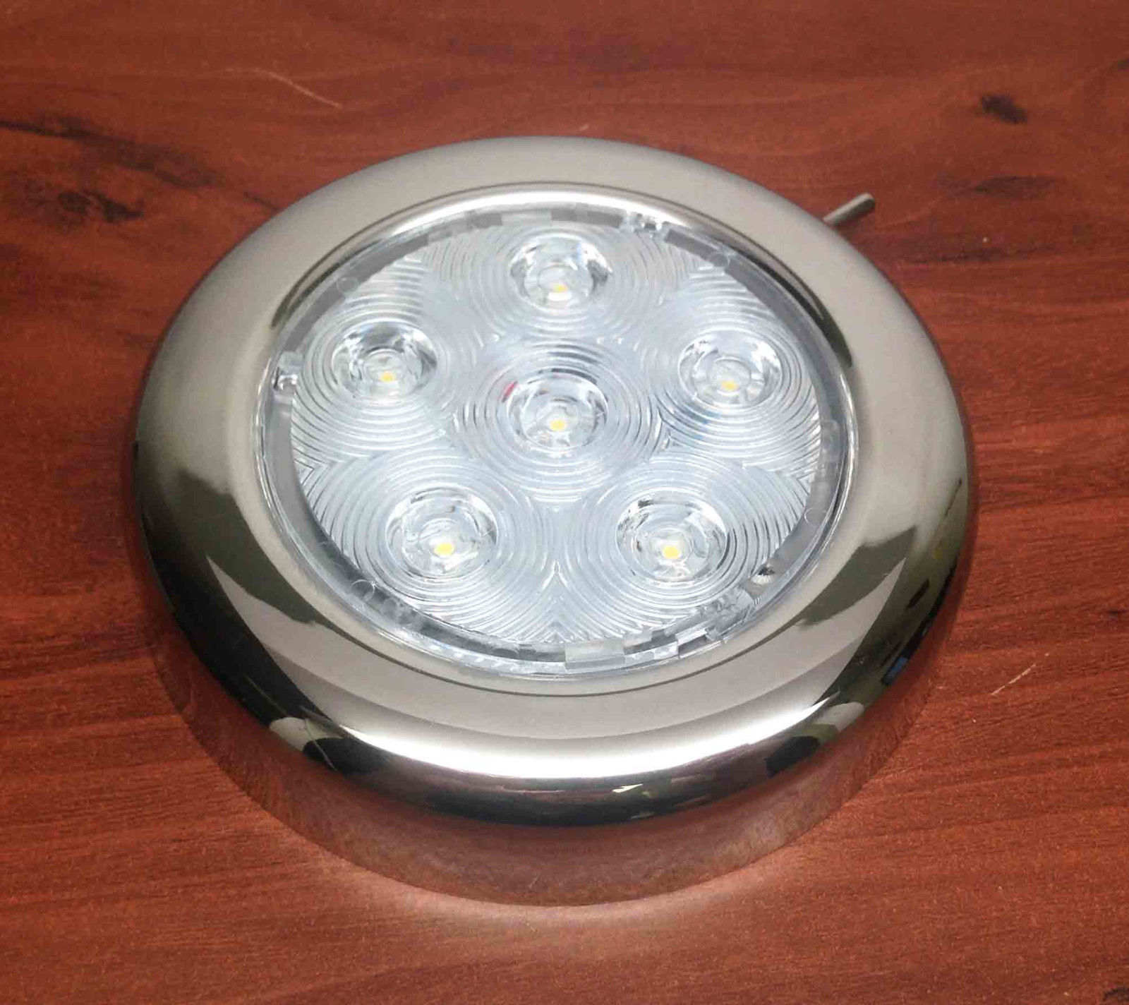 Replace Boat Lights With Led: RV MARINE BOAT TRAILER LED BRIGHT CEILING LIGHT S.S