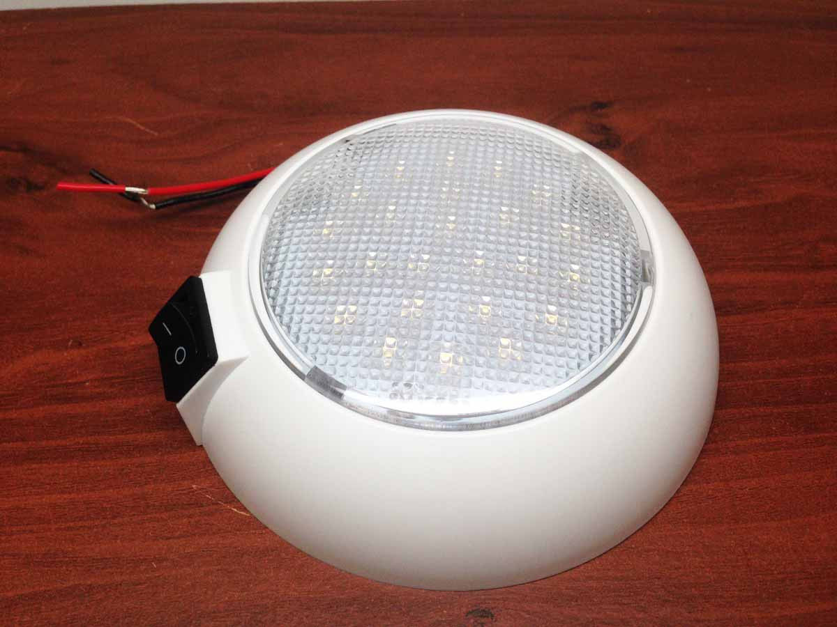 MARINE BOAT RV LED CEILING LIGHT SURFACE OR RECESSED MOUNT