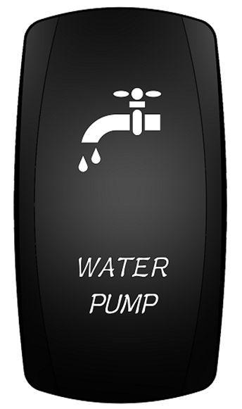 Marine Boat Water Pump Rocker Switch On Off Spst 3 Pin 2
