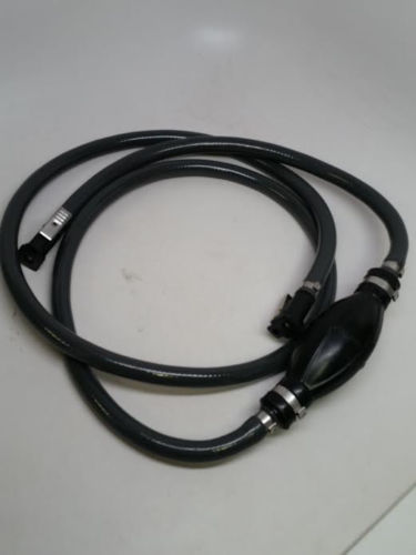 Pactrade Fuel Line Assembly Yamaha 3//8/'/' Hose Barbs Rubber Primer Bulb Connector
