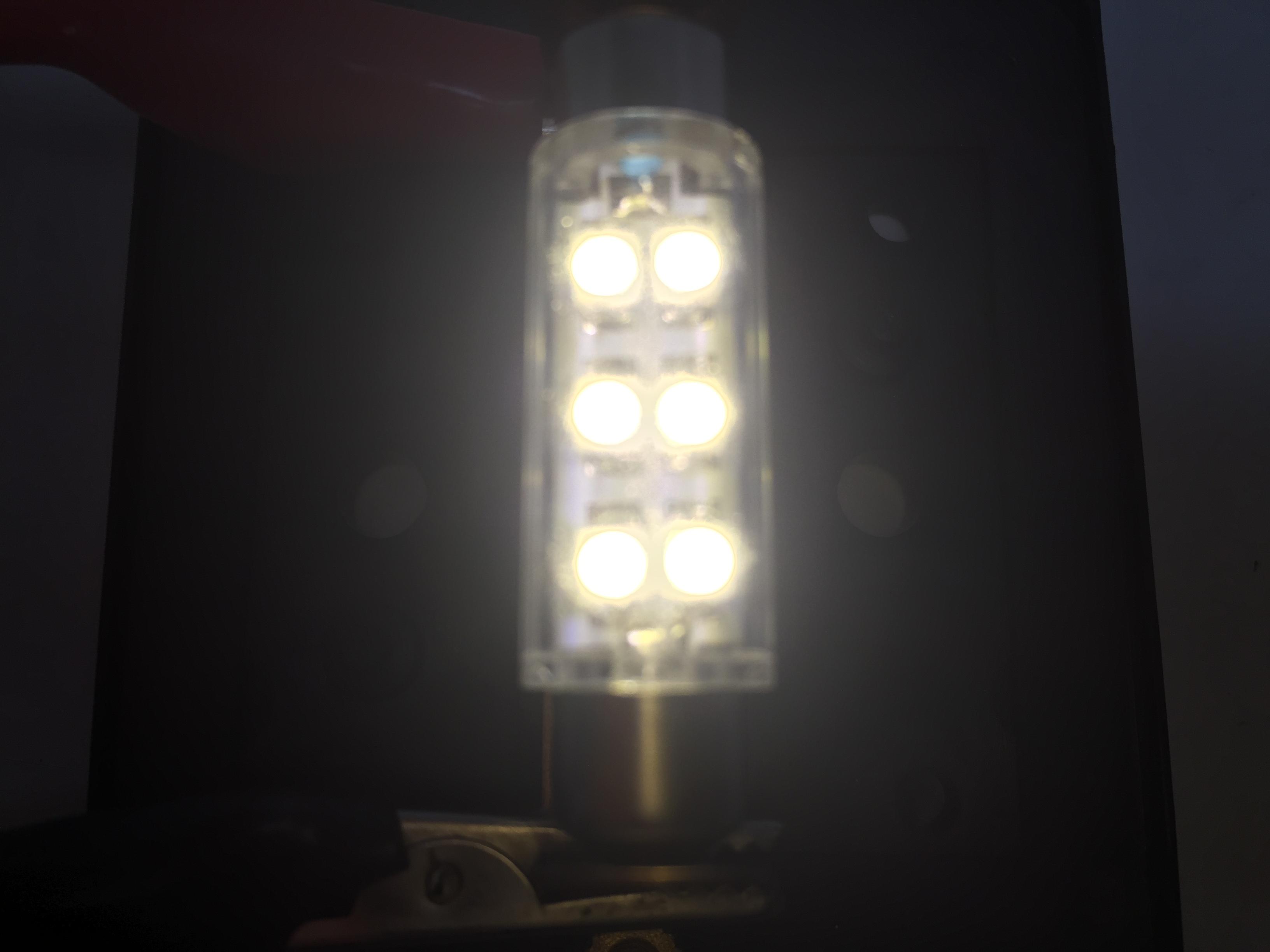 2 PCS MARINE AUTO RV TRAILER BUS VEHICLE LED BULB FESTOON TYPE WARM WHITE LIGHT