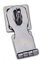 "MARINE BOAT STAINLESS STEEL SAFETY HASP / HINGE 3.6"" by 1"" LONG"