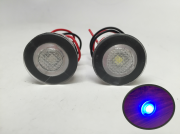 2 Pieces Pactrade Marine Boat LED Livewell Round Button