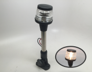 MARINE BOAT FOLDABLE ALL ROUND ANCHOR LIGHT STAINLESS STEEL POLE