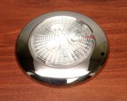 MARINE BOAT RV BRIGHT SLIM LED CEILING LIGHT SS304 PC LENS WARM