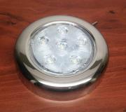 RV MARINE BOAT TRAILER LED BRIGHT CEILING LIGHT S.S. TOGGLE SWIT