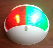 MARINE BOAT VERTICAL MOUNT COMBINATION RED GREEN BOW LED NAVIGAT