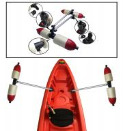 Pactrade Marine Boat Kayak Canoe Inflatable PVC Outrigger Arms Stabilizer System