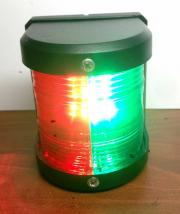 MARINE BOAT RED & GREEN BOW LED NAVIGATION LIGHT WATERPROOF 2 NA