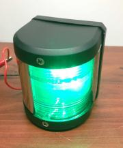 BOAT GREEN STARBOARD LED NAVIGATION LIGHT UP TO 1 NM 12 V 39 Ft.