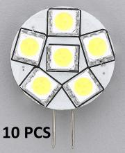 10pcs REPLACEMENT LED BULB G4 WARM WHITE SIDE PIN