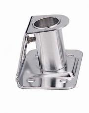 "MARINE STAINLESS STEEL 304 STANCHION SOCKET FOR 1"" POLE AT 84° A"