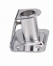 "STAINLESS STEEL 304 STANCHION SOCKET FOR 1"" POLE"