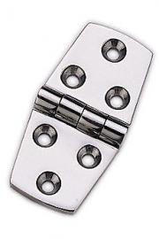 MARINE BOAT STAINLESS STEEL 316 STRAP HINGE 3 BY 1.5 INCHES