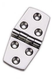 MARINE BOAT STAINLESS STEEL 316 STRAP HINGE 4 BY 1.5 INCHES