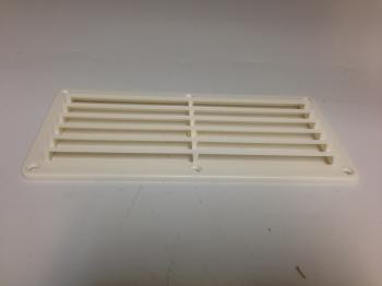 "MARINE BOAT ABS WHITE VENTILATOR COVER PLATE 10 1/8"" X 4 7/8"""