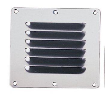"MARINE BOAT MARINE BOAT STAINLESS STEEL VENTILATOR COVER PLATE 5""X4.5"""